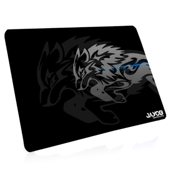 Mousepad Jayob LBK Iron Wolf - Medio Speed (36cm x 28cm x 0,3cm) Linha Exclusiva Legendary by Kirby