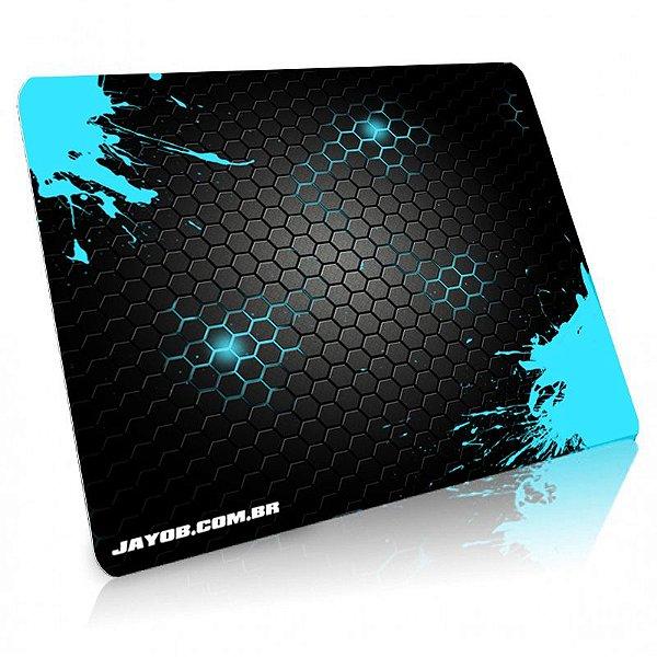 Mousepad Jayob Splash Teal Grande Speed - (45cm x 40cm x 0,3cm)