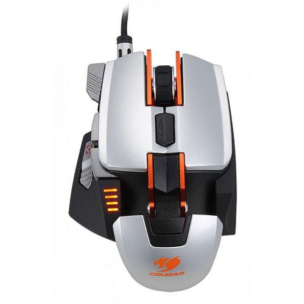 Mouse Gamer Cougar 700M - 8200DPI Silver / Orange