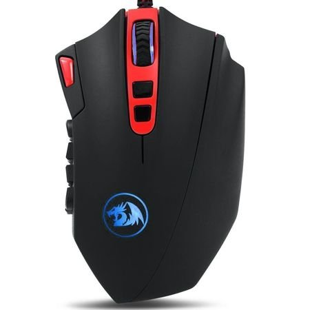 Ultra Mouse Red Dragon Perdition 16400 DPI (MOBA + Full Spectrum Colors)