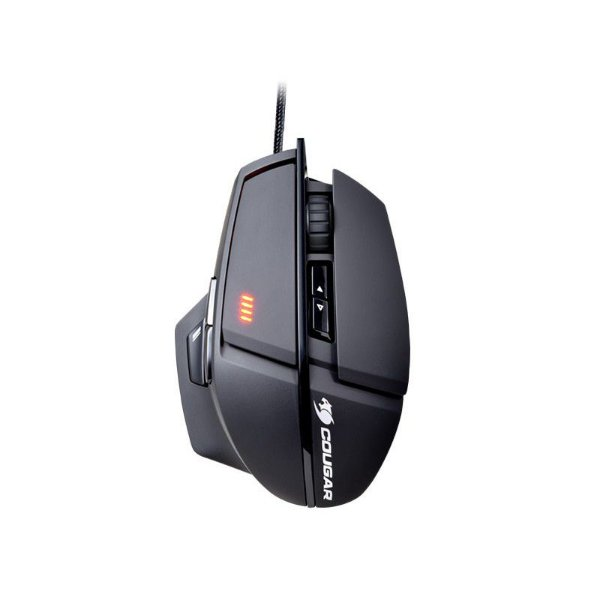 Mouse Gamer Cougar 600M Black - 8200 DPI