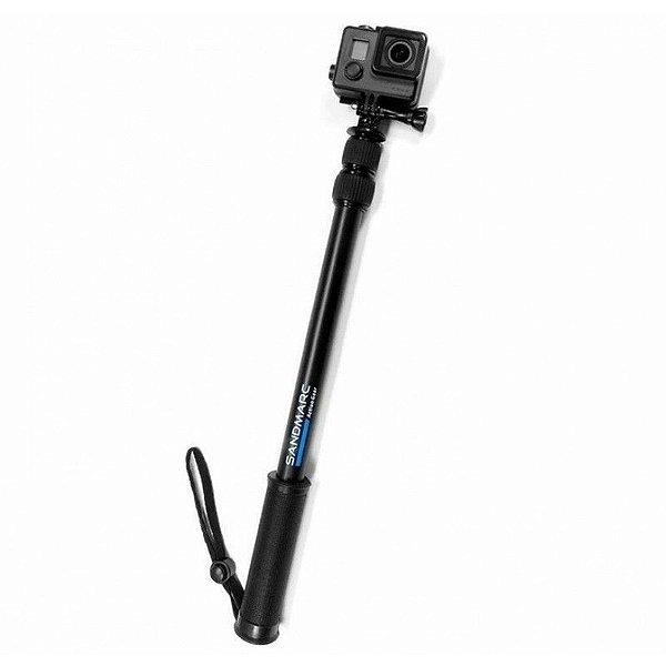 Bastão Retrátil Sandmarc Pole - Black Edition para GoPro