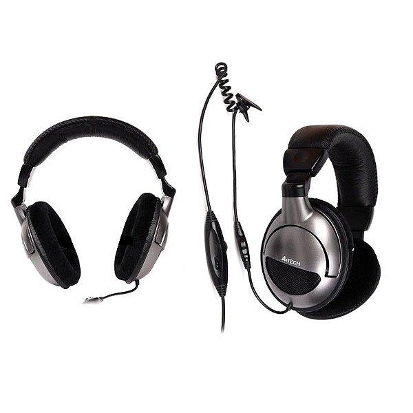 Fone c/ Microfone A4tech HU-800 USB Stereo Gaming Headset