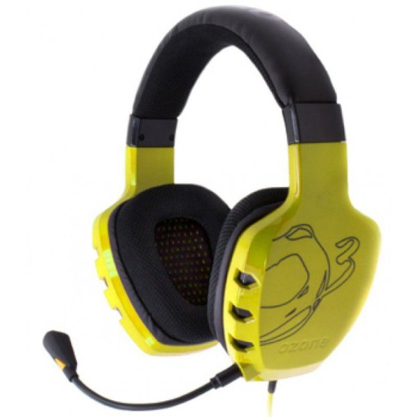 Fone Ozone Rage ST Yellow Headset