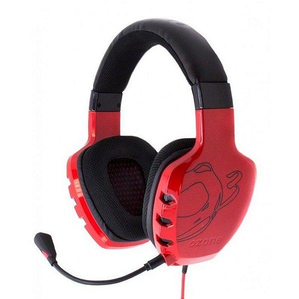 Fone Ozone Rage ST Red Headset