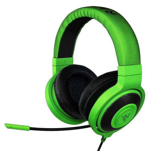 Fone Razer Kraken Pro Green Headset