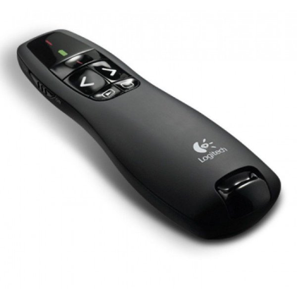 Controle Apresentador Logitech R400 Laser Point Wirelees Presenter