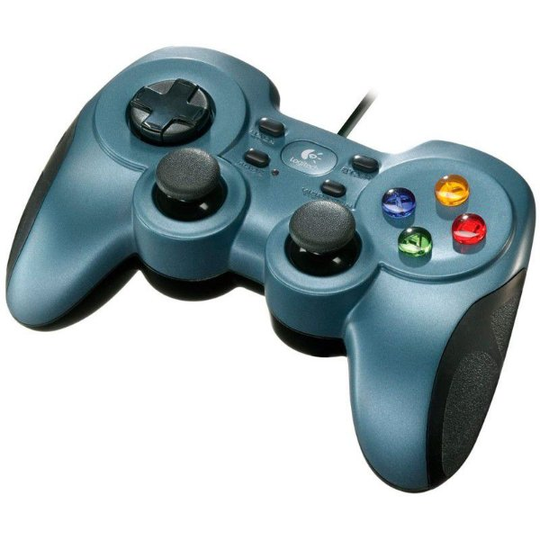 Controle Logitech F510 Rumble Gamepad Joystick