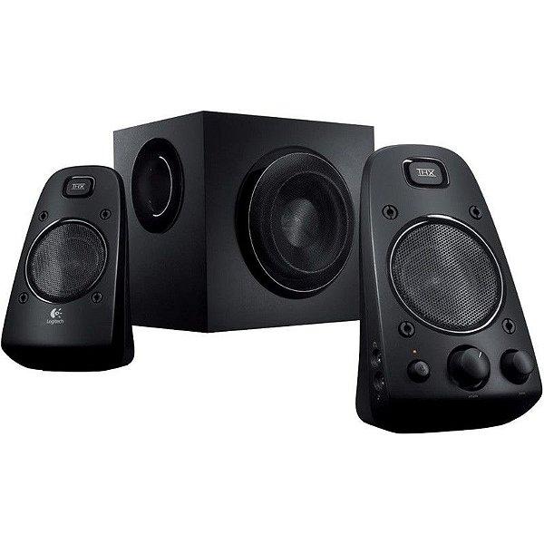 Caixa de Som Logitech Z623 Speaker System 200W RMS 2.1 THX Certified