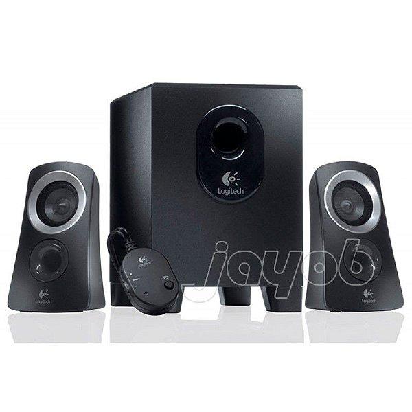 Caixa de Som Logitech Z313 Speaker System 2.1 25W RMS