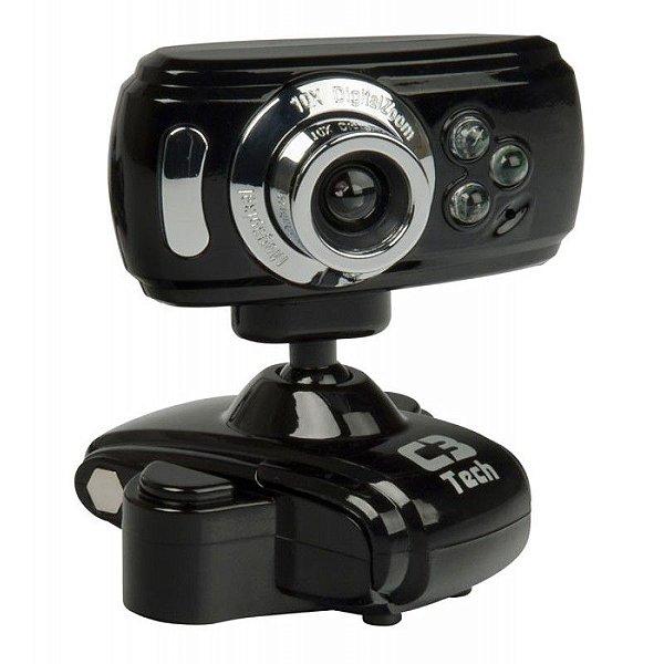 Webcam C3 Tech WB2105-P BK