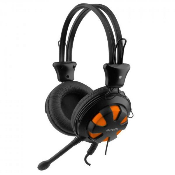 Fone A4Tech HS-28 Orange Stereo Gaming Headset