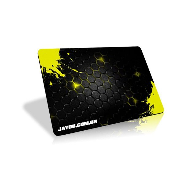 Mousepad Jayob Splash Yellow (Pequeno)