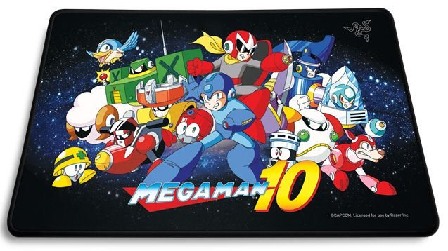 Mousepad Razer Standard Megaman Capcom Edition Médio Speed