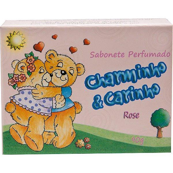 Sabonete - Charminho & Carinho 90g - Rose