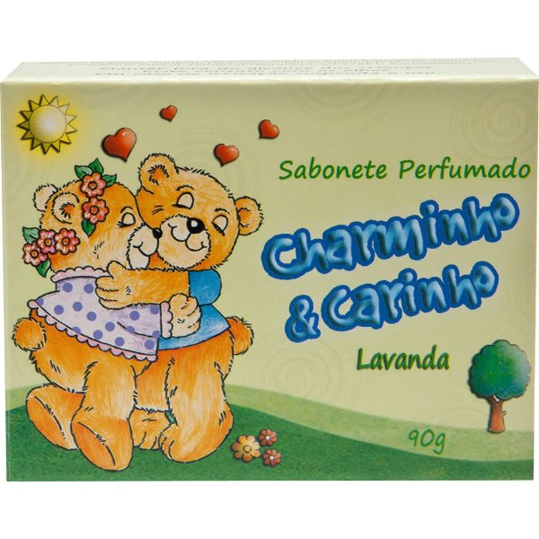Sabonete - Charminho & Carinho 90g - Lavanda