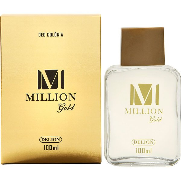 Deo Colônia - Delion 100ml - Million Gold