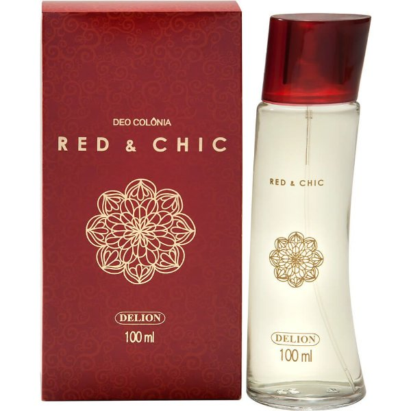 Deo Colônia - Delion 100ml - Red&Chic