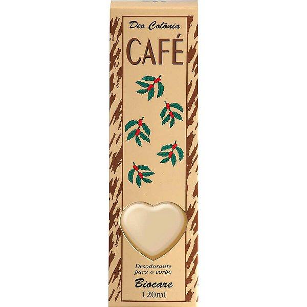 Deo Colônia - Biocare 120ml - Café