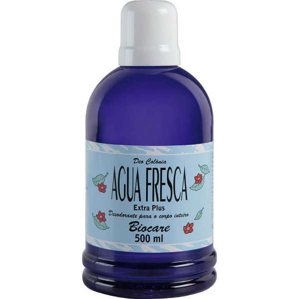 Deo Colônia – Biocare 500ml - Agua Fresca