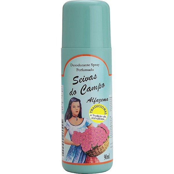 Desodorante Spray - Seivas do Campo 90ml - Alfazema Tradicional