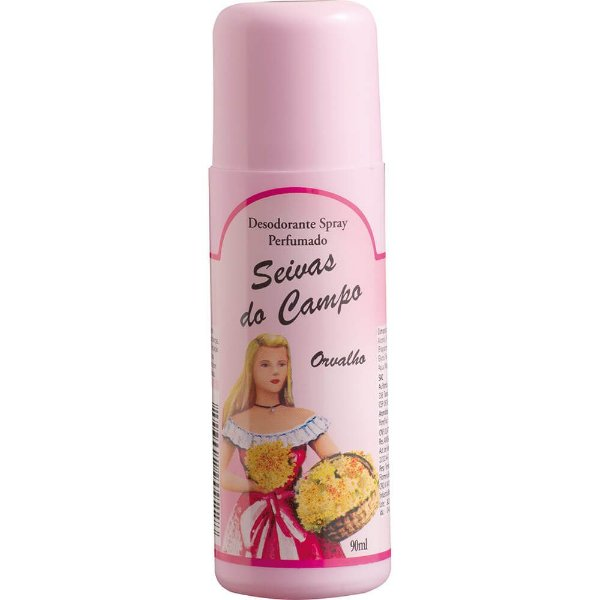 Desodorante Spray - Seivas do Campo 90ml - Orvalho