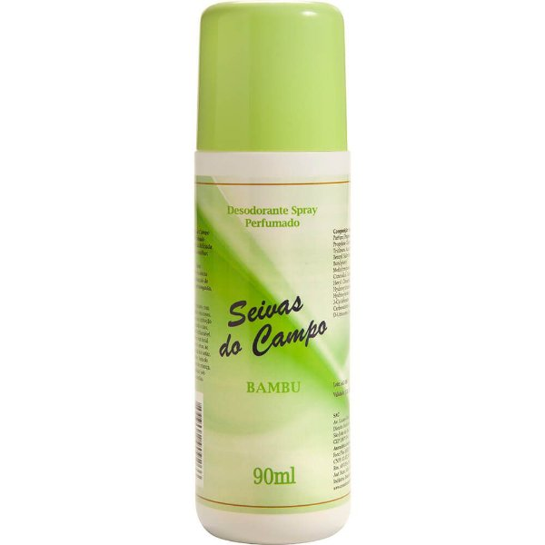 Desodorante Spray - Seivas do Campo 90ml - Bambu