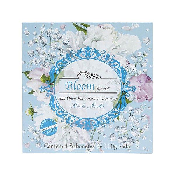 Estojo com 4 sabonetes Bloom Intenso Flor da Manhã