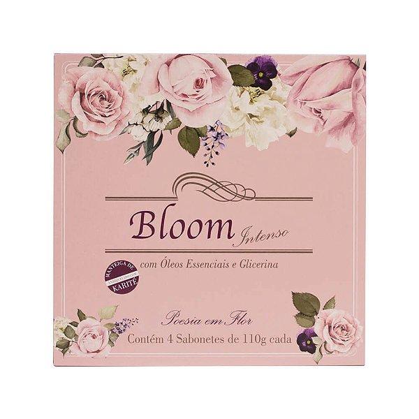 Estojo com 4 sabonetes Bloom Intenso Poesia em Flor