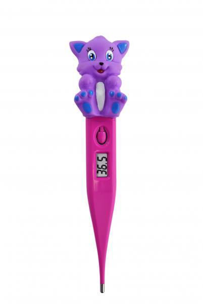 Termômetro Clínico Digital Termomed Gato Pink - Incoterm