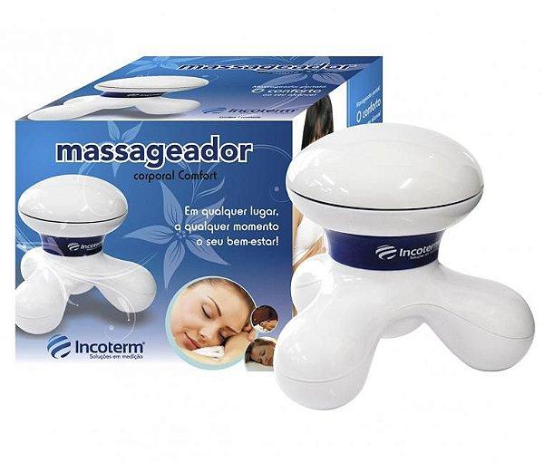 Massageador Corporal Confort Branco - Incoterm