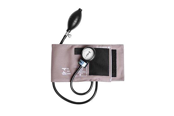 Aparelho de Pressão Adulto Brim Velcro AP0104 - Bic