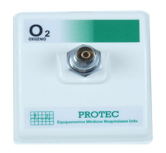 Posto Parede Interno P/ Oxigênio - Protec