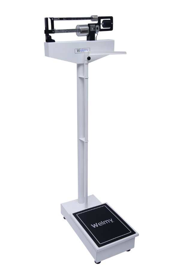 Balança Mecânica Antropométrica Adulto 150 KG X 100 Gramas 110 CH - Welmy
