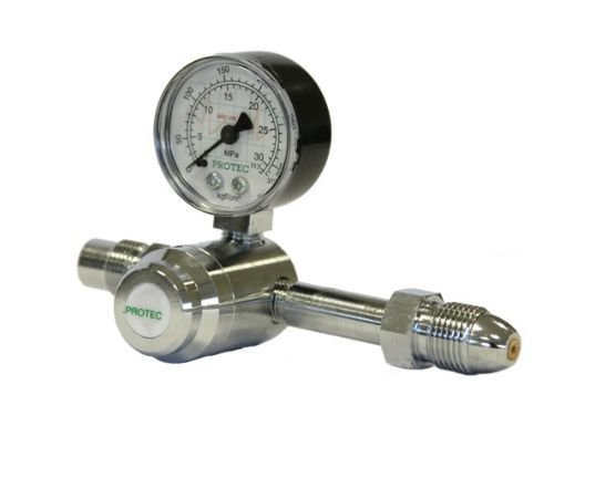 Válvula Para Cilindro C/ 1 manômetro Ar Comprimido - Protec