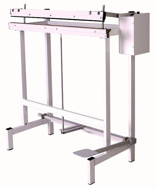 Seladora Industrial Pedal 80CM. Temp. Corte e Solda Simultânea Bivolt TI800-2 C - Barbi