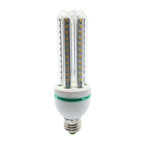 Lâmpada Compacta Led 3U 12W E-27 - Luz Branca Fria e Quente
