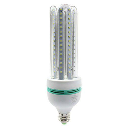 Lâmpada Compacta Led 4U 24W E-27 - Luz Branca Fria e Quente