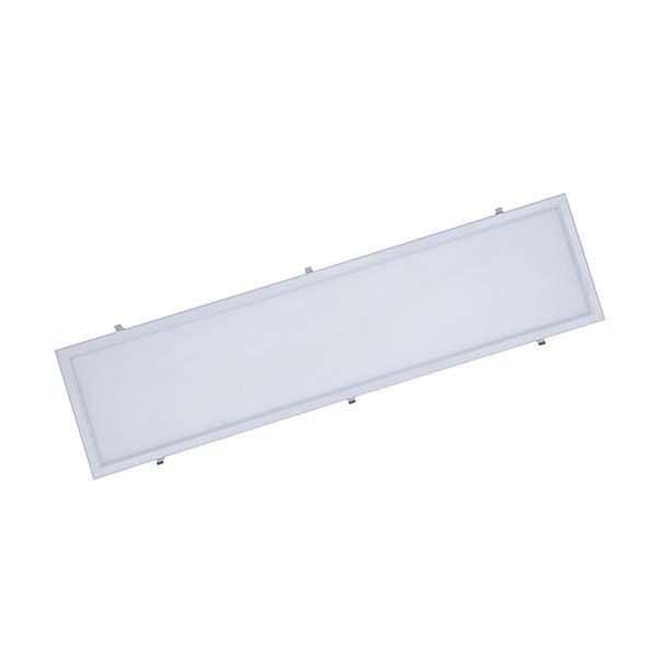 Luminária Led 60W de Embutir Slim Retangular 30x120cm Completa - Luz Branca Fria e Quente