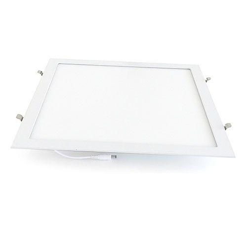 Plafon Led 36W de Embutir Slim Quadrado 40x40cm Completo - Luz Branca Fria e Quente