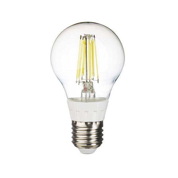 Lâmpada Filamento Led Bulbo 6W E27 - Luz Branca Fria e Quente