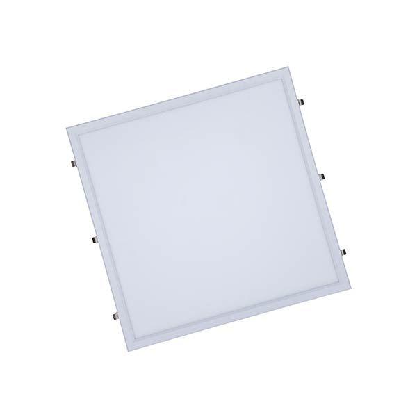 Luminária Led 60W de Embutir Slim Quadrada 60x60cm Completa - Luz Branca Fria e Quente