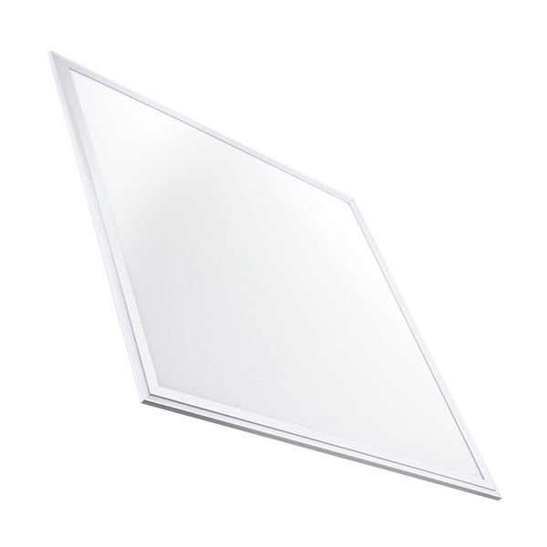 Luminária Led 48W de Embutir Slim Quadrada 60x60cm Completa - Luz Branca Fria, Neutra e Quente