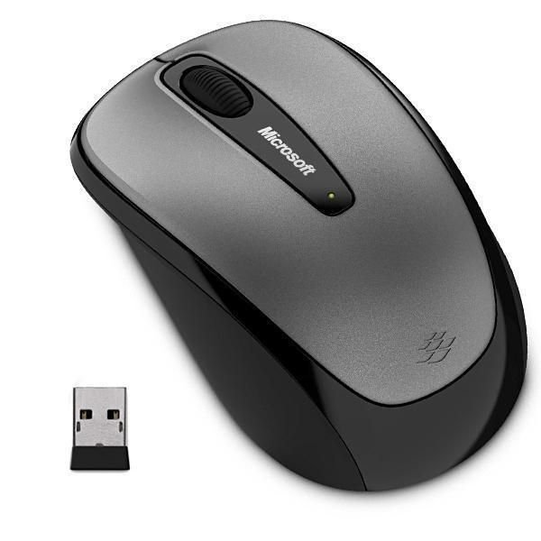 Mouse Microsoft Wireless 3500 GMF00380 - Preto