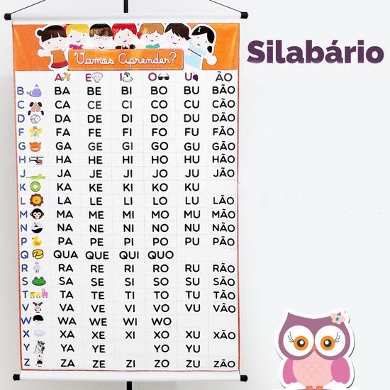 Banner | Silabário
