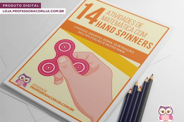 14 Atividades com Hand Spinner - Matemática