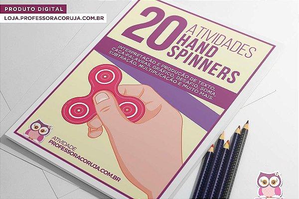 20 Atividades com Hand Spinner
