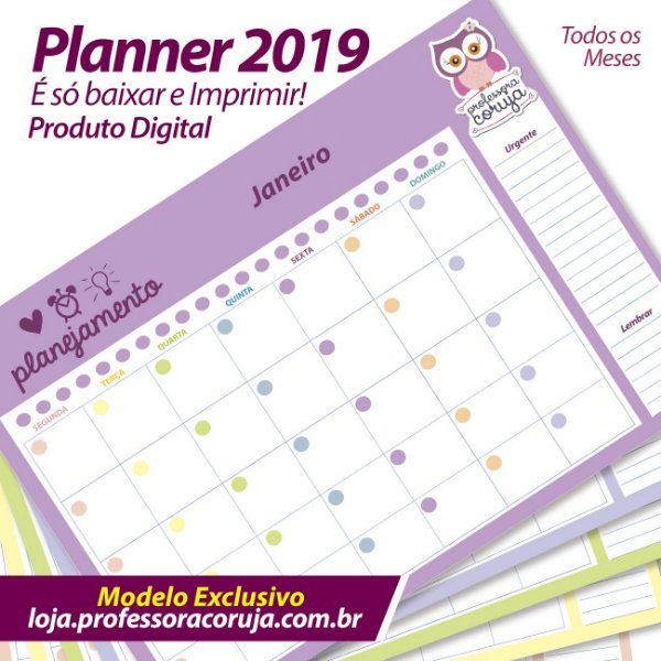 Planner Mensal | Planejamento