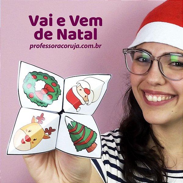 Atividade Vai e Vem Natal | Produto Digital