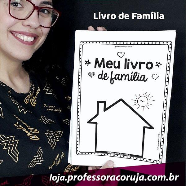 Livro Minha Família | Produto Digital